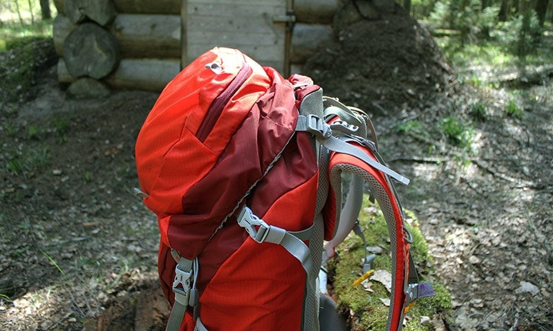 Top lid sliding off on the Mountaintop backpack